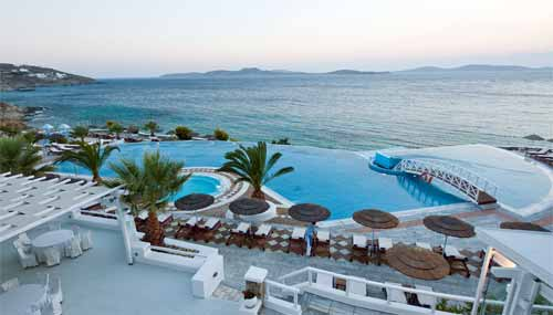 Infinity Pool at Saint John Mykonos