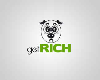 Get Rich Logo Design