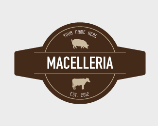 Macelleria Logo Design