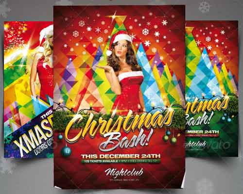 Christmas Party Flyer Bundle