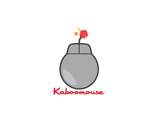 Kabooomouse Logo Design