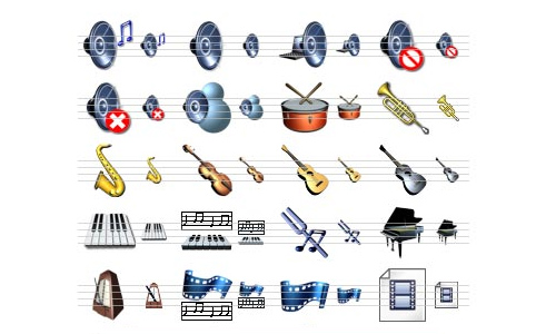 Free Music Icon Library