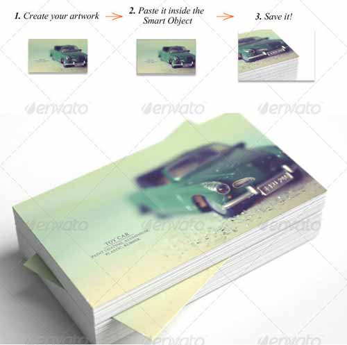Multiformat Business Card Mockup Template