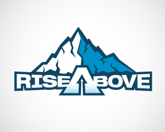 Rise Above Logo Design