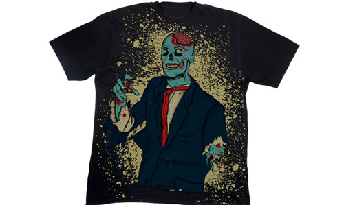 Halloween T-Shirt Designs: Zombie Tee