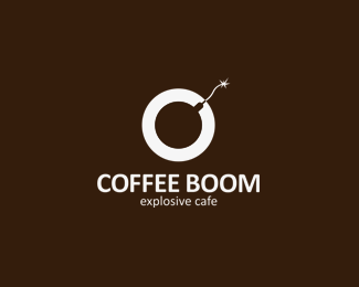 Coffee boom Logo Design