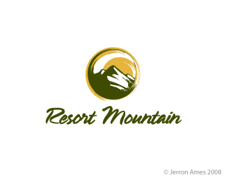 RMountain Logo Design