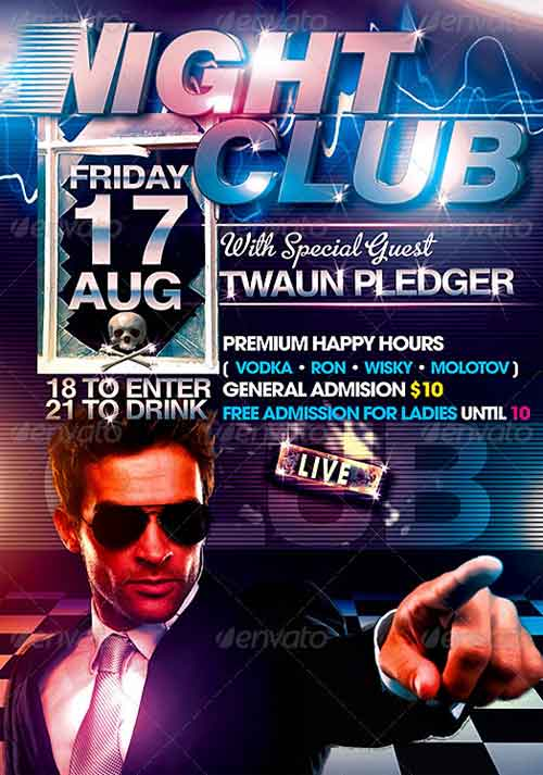 Nightclub Flyer Template
