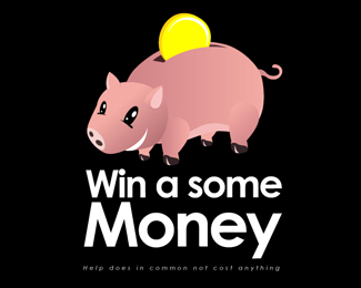 Pig Money Logo Design