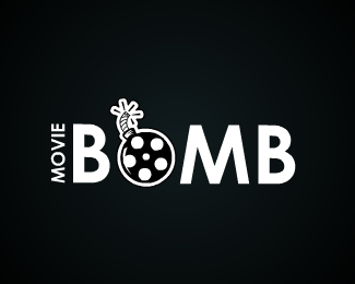 Movie Bomb Logo Design