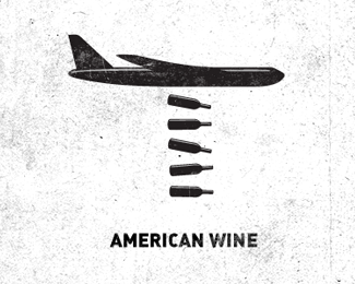 American Wine Logo Design