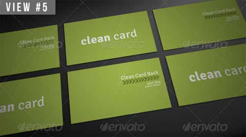 Clean Business Card Mockup Templates