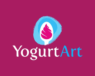 Yogurt Art Logo Design