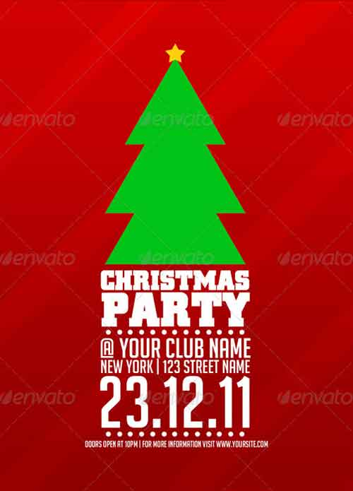 Christmas Flyer Templates For Christmas Party Events