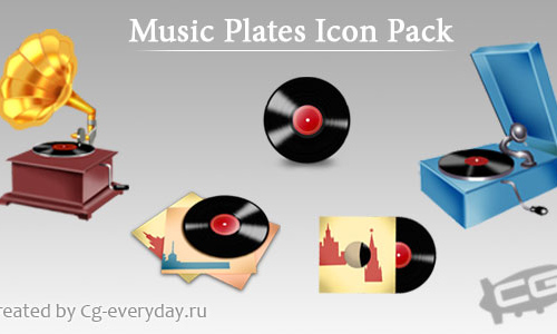 The Old Music Plates