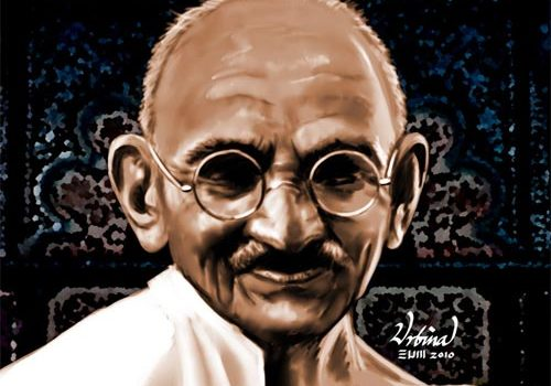 Tribute: 25 Supremely Exquisite Mahatma Gandhi Artworks