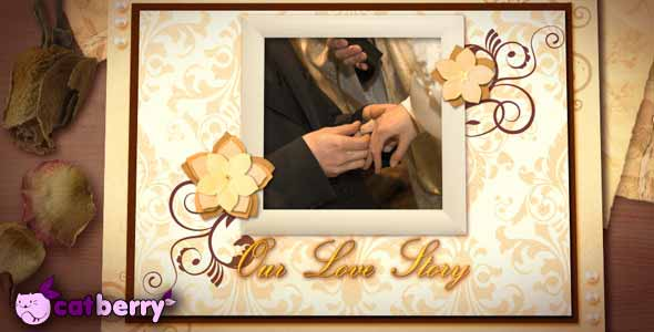 Vanilla Wedding After Effects Templates