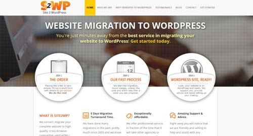 Site 2 WordPress