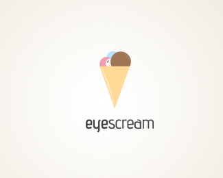 Eyescream Logo Design