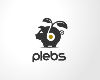 Plebs Logo Design