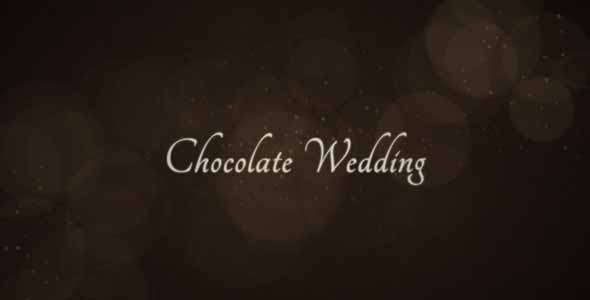 Chocolate Wedding After Effects Templates
