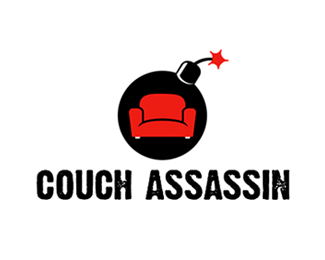 Couch Assassin Logo Design