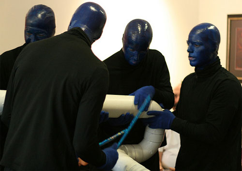 Blue Man Halloween Group Costume