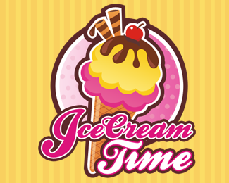 Ice Cream Logo Design