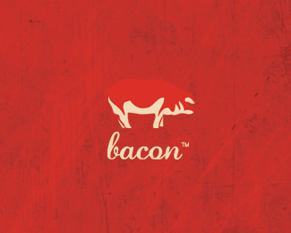 Bacon Logo Design