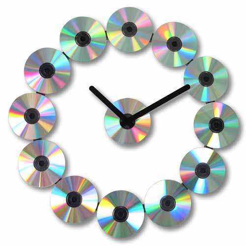 CD-Inspired Clock