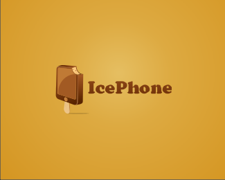 Ice Phone Logo Design