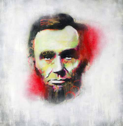 Abraham Lincoln Artwork 1865