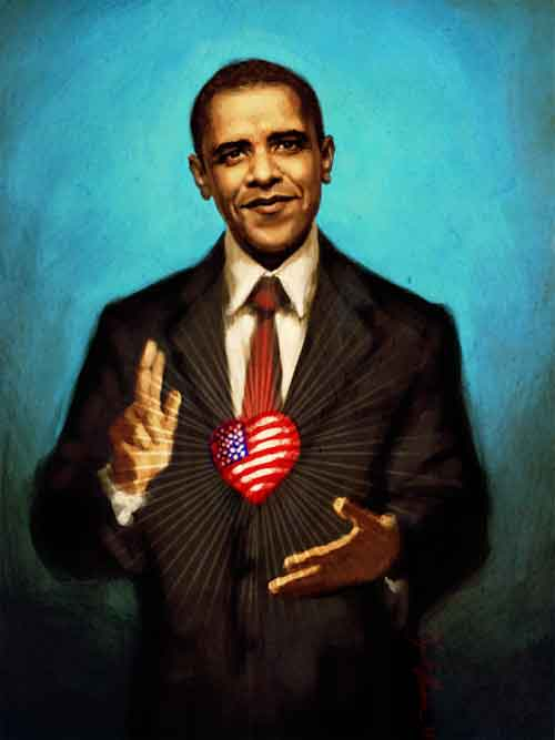 The Sacred Heart of Obama
