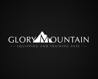 Glory Mountain Logo Design