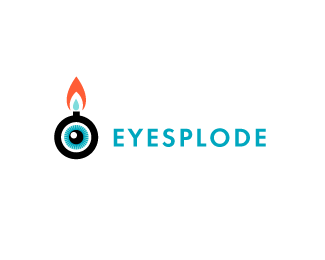 Eyesplode Logo Design