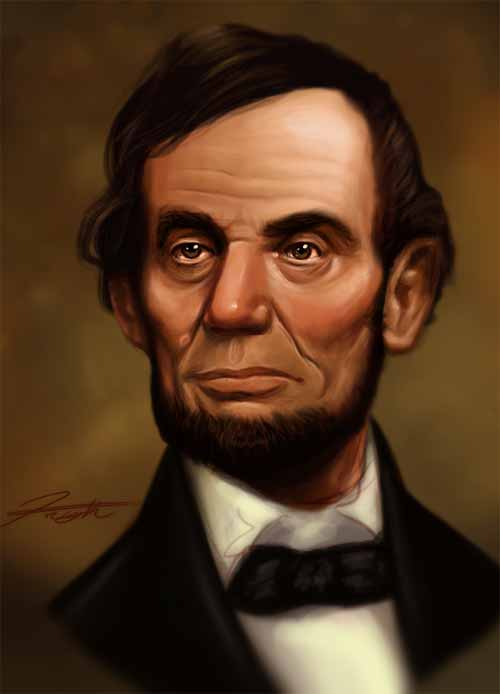 Abraham Lincoln Speed Paint