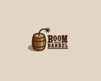 Boom-Barrel Logo Design