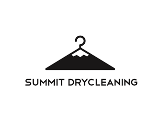 Summit Drycleaning Logo Design