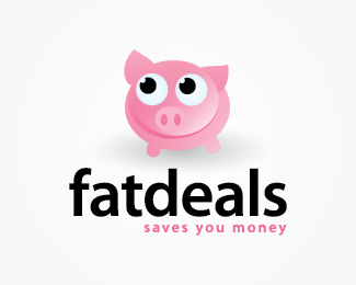 Fat deals Logo Design