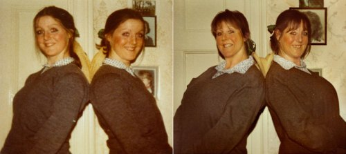 Campbell Twins 1976 & 2011 London