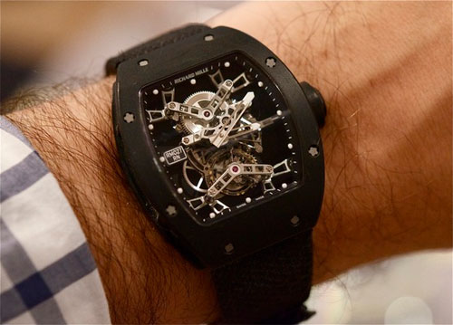 Wrist Watch Designs: Richard Mille RM027 Tourbillon