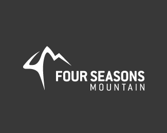 Four Seasons Mountain Logo Design