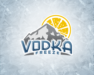 Vodka Freeze Logo Design