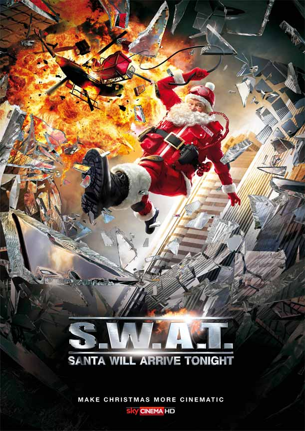 S.W.A.T. Poster for Christmas Advertisement