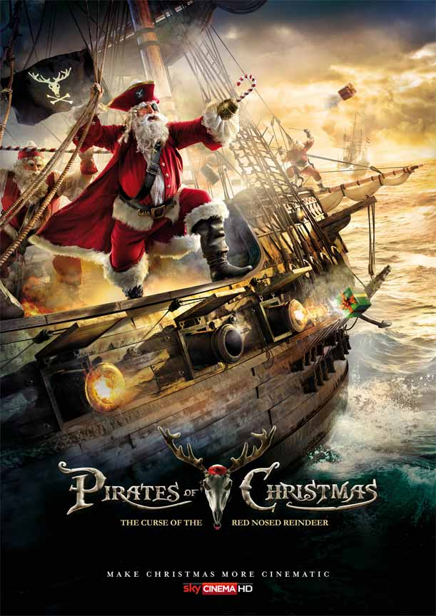 Pirates of Christmas: The Curse of the Red Nosed Reindeer Poster for Christmas Advertisement