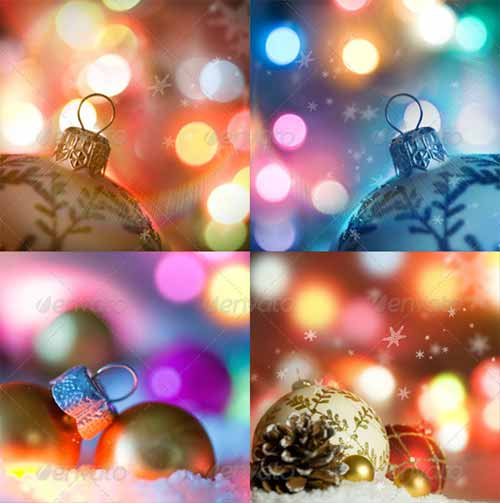 Beautiful Christmas: Background Set