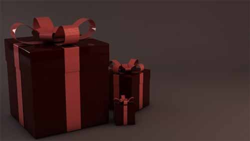 Christmas Gift Box Presents