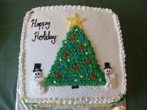 Cake Decorating Christmas Ideas : 30 Sweet Christmas Cake Decorating Ideas and Designs