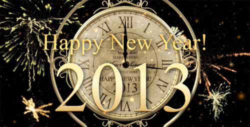 New Year Countdown Clock 2013