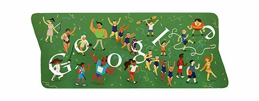 Google Doodle Sports 2012 - Closing Ceremony